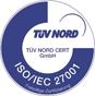 Logo ISO / IEC 27001